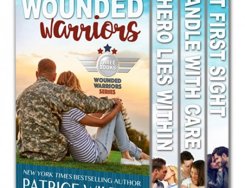 WOUNDED WARRIOR – 3 BOOK SET
